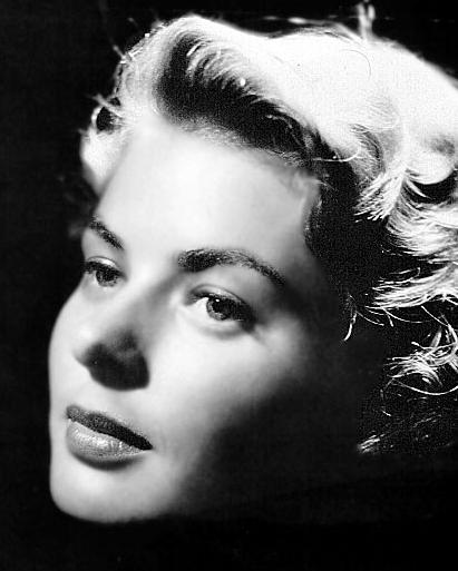 Actresses-Ingrid Bergman-Pinterest