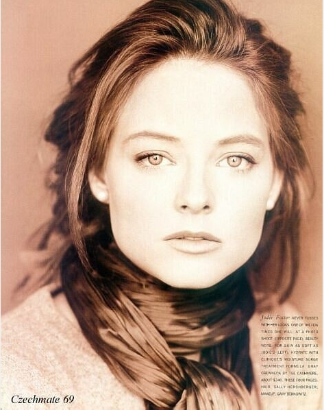 Actresses-Jodie Foster-Pinterest