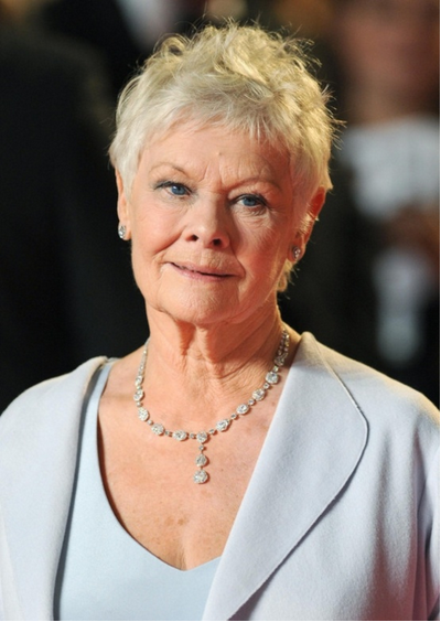 Actresses-Judi Dench-Pinterest